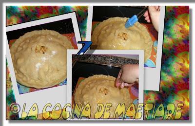 Tarta de manzana al estilo USA Collage6