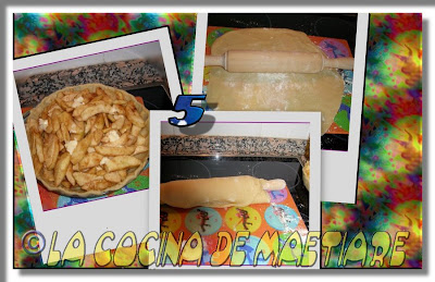 Tarta de manzana al estilo USA Collage4