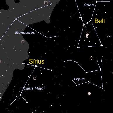 blue star sirius the wolf - photo #33