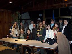 encuentro con diferentes asociaciones en el concello de vigo