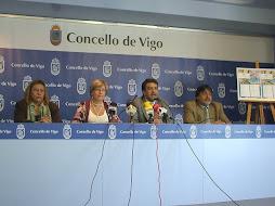 presentación del l foro de migración en el concello de vigo
