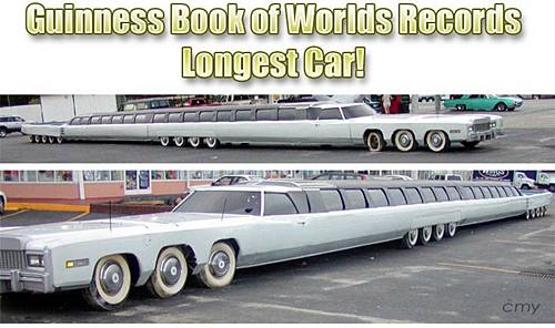 World's Longest Car (Limousine) | All the auto world