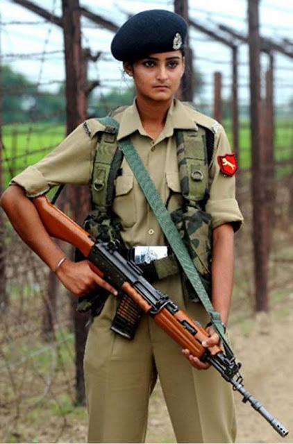 Indian Military Uniform Women