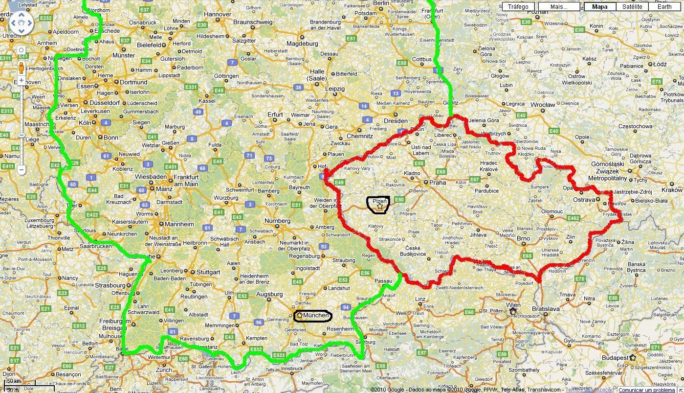 munique mapa Erasmus em Pilsen: Munique munique mapa