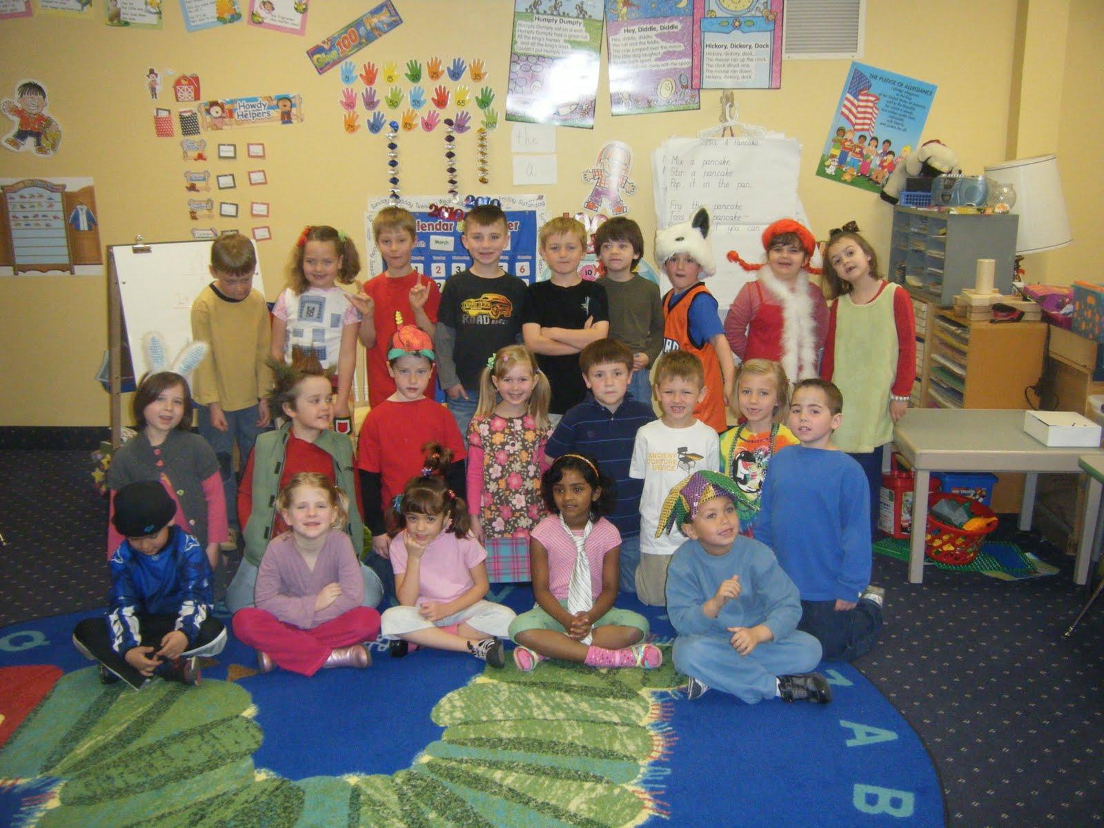 Kindergarten Times Wacky Wednesday