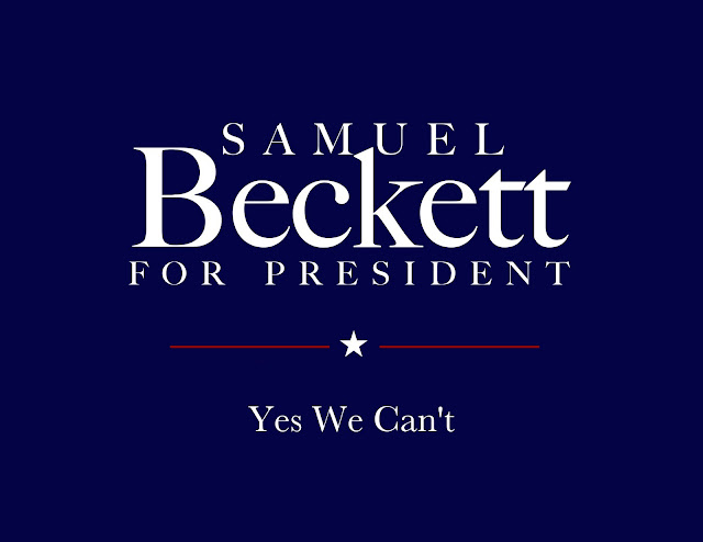'Samuel Beckett for President: Yes We Can't' by Matthew Guerrieri