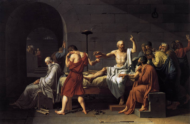 Jacques-Louis David, 'The Death of Socrates'