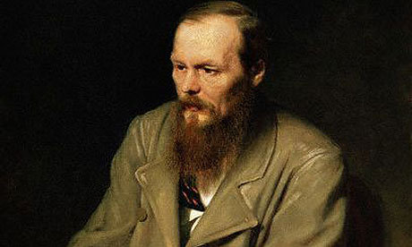 A portait of Dostoyevsky by Vasily Grigorievich (detail). Image: Corbis