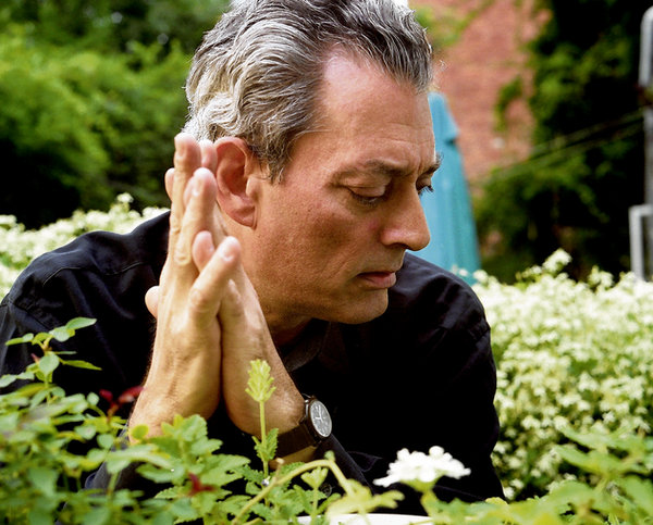 Paul Auster. Photograph: Jean-Christian Bourcart/Getty Images