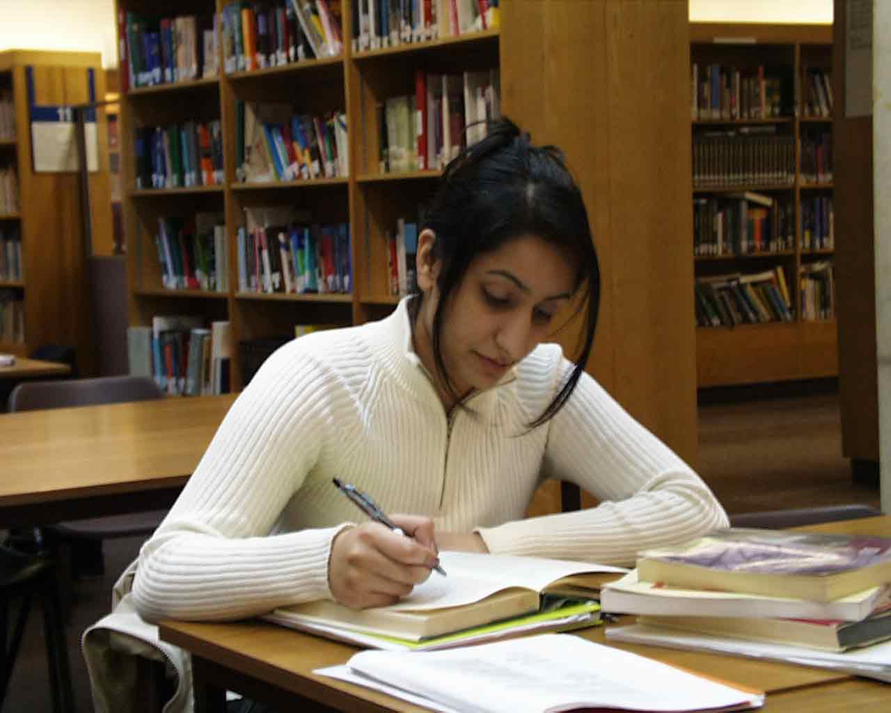 Writers study