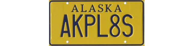 AKPL8S: The Alaskan License Plate Blog
