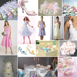 wedding ideas pastel colours is anyone or has a multi coloured wedding 28278
