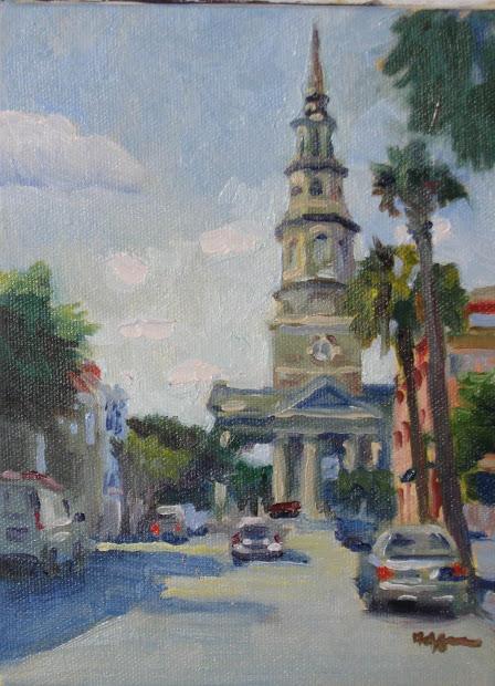Charleston Churches Paintings