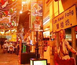 Travel Hong Kong Guide Lan Kwai Fong