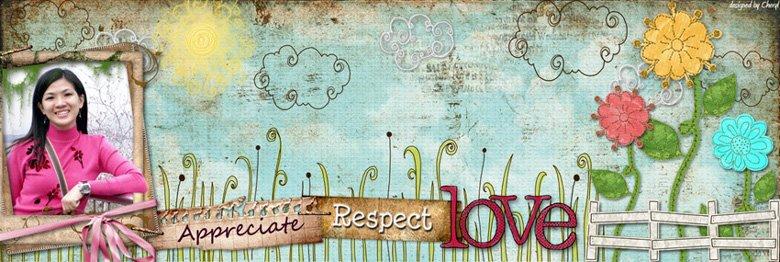 Appreciate~respect~love
