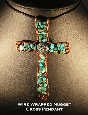 Beaded Cross Pendant 2 by ~inthebackground on deviantART