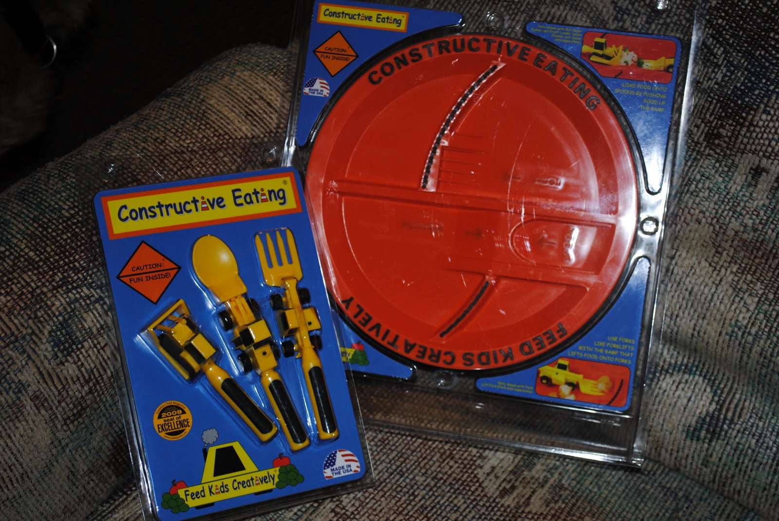Buy It Visit Constructive Eating to buy yours today! The Construction Plate is $14.95 and the Constructive Eating Utensils Set is $19.95. & Constructive Eating Plate and Utensils Review and Giveaway CLOSED ...
