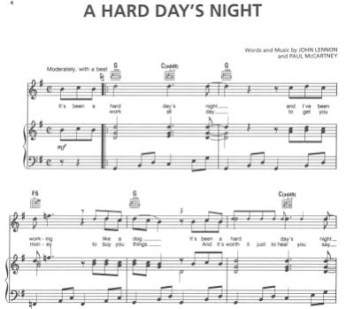 String Theory Chords Blog: Free Piano Sheet Music