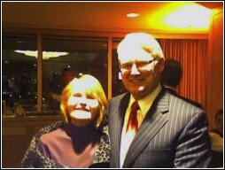 Premier Gordon Campbell and former BC NDP leader Joy MacPhail