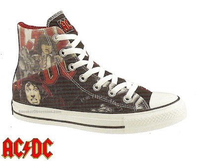 uk availability 7a39d d3d81 Recently we have seen collaborative sneakers with Ozzy Osbourne and Pink  Floyd. Now they worked with AC DC. In this collaboration between AC DC and  Converse ...