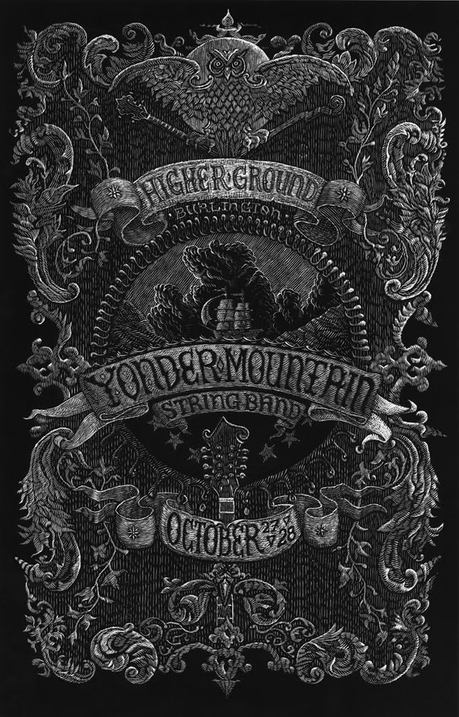 Inside The Rock Poster Frame Blog Yonder Mountain String