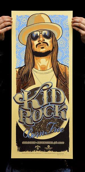 lars p krause kid rock poster