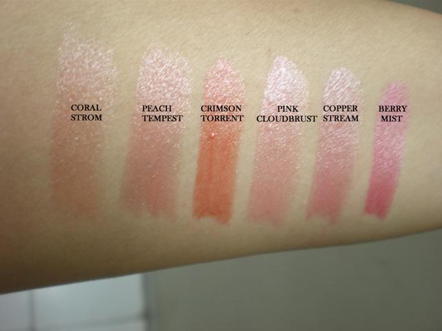 Lipstick Colour Shades