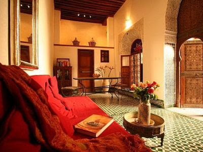 Moroccan Interior Design | Black Interior