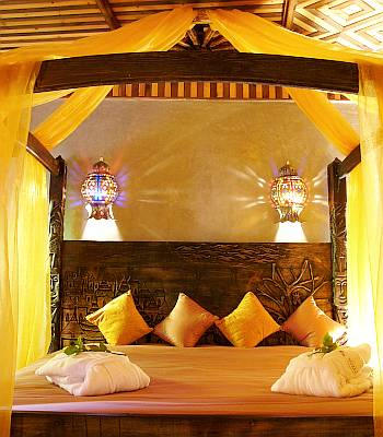 Moroccan Themed Bedroom