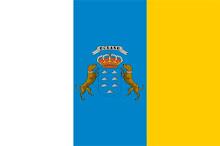 Bandera de Canarias.