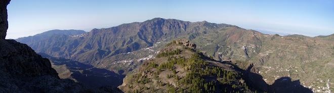 Desde Roque Nublo. Gran Canaria.