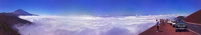 Mar de nubes. Tenerife.