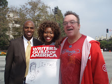 KEVIN FRAZIER FROM ENTERTAINMENT TONIGHT and TOM ARNOLD