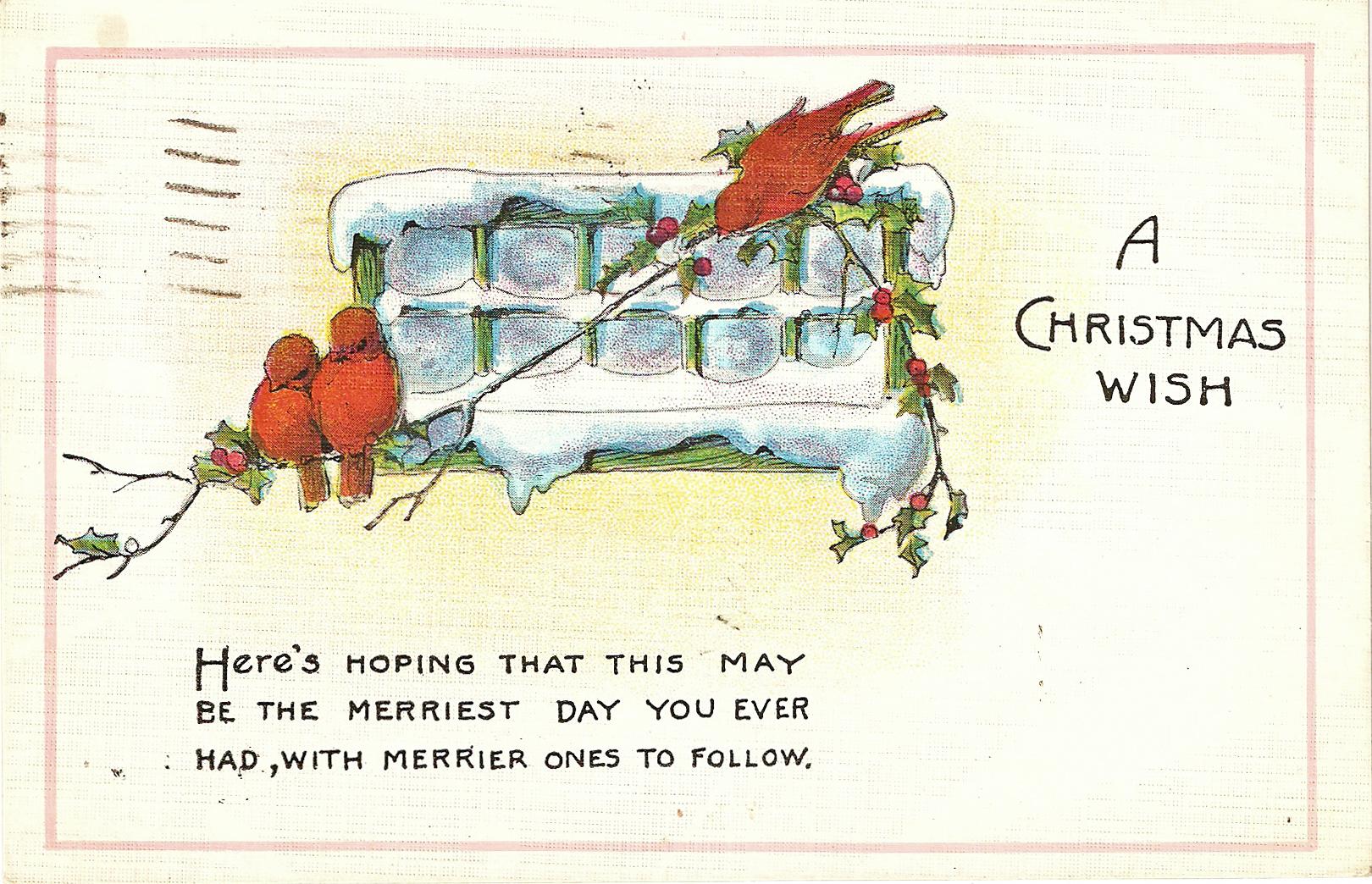 Free Christmas Printable & Vintage Christmas Clip Art – Maggie ...
