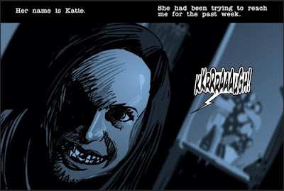 Bloody Blondes: New iPhone app-- Paranormal Activity: The ... Katie Featherston Demon Face
