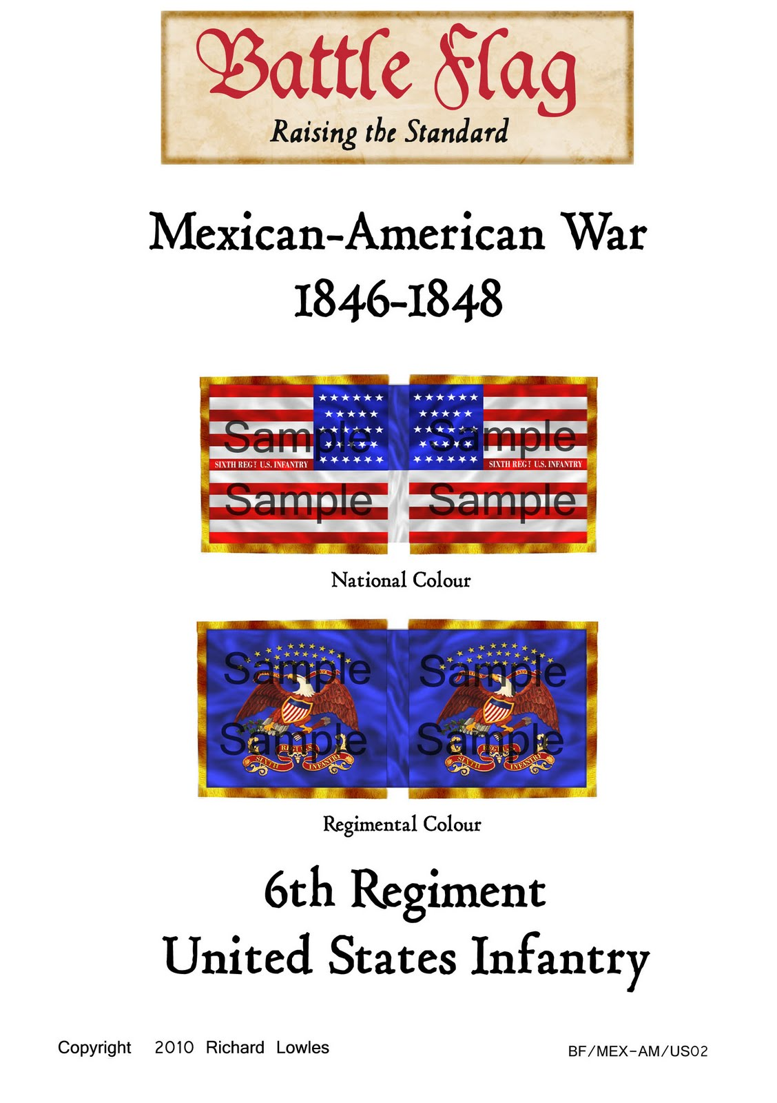 Wargame Flags Of The Mexican American War Available Now