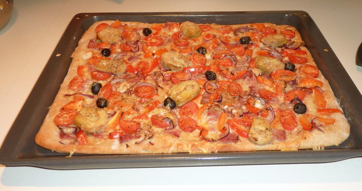 Pizza Mit Allem