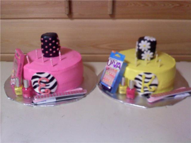Amerson Cakes EmmaKates 5th Birthday Cake Nail Polishes