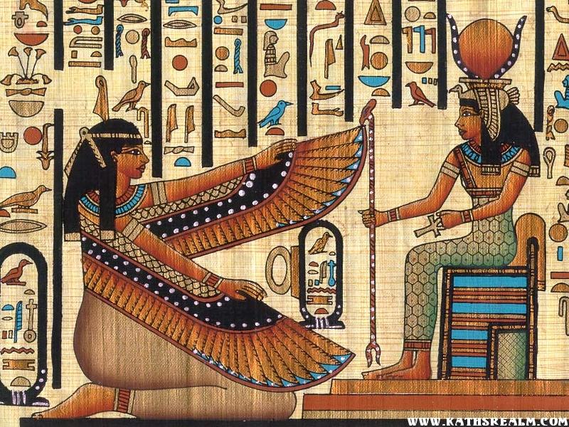 Isis, reina y diosa de Egipto