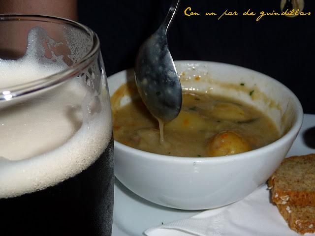 Irish stew o el mejunje blancuzco