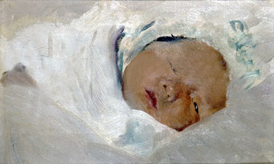 Bebé, Joaquín Sorolla Bastida, Retratos de Joaquín Sorolla, Joaquín Sorolla y Bastida, Joaquín Sorolla, Pintor español, Retratista español, Pintores Valencianos, Retrato de Bebé