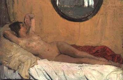 Anselmo Miguel Nieto, Anselmo Miguel Nieto, Pintura Española, Pintores Españoles, Pintor Español, Mujer desnuda, Mujeres desnudas, Obras de Anselmo Miguel Nieto