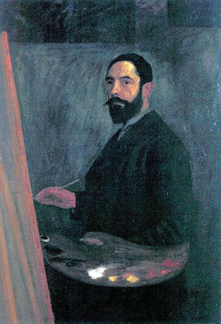 Manuel Losada, Maestros españoles del retrato, Retratos de Manuel Losada, Pintor español, Pintores de Bilbao, Manuel Losada