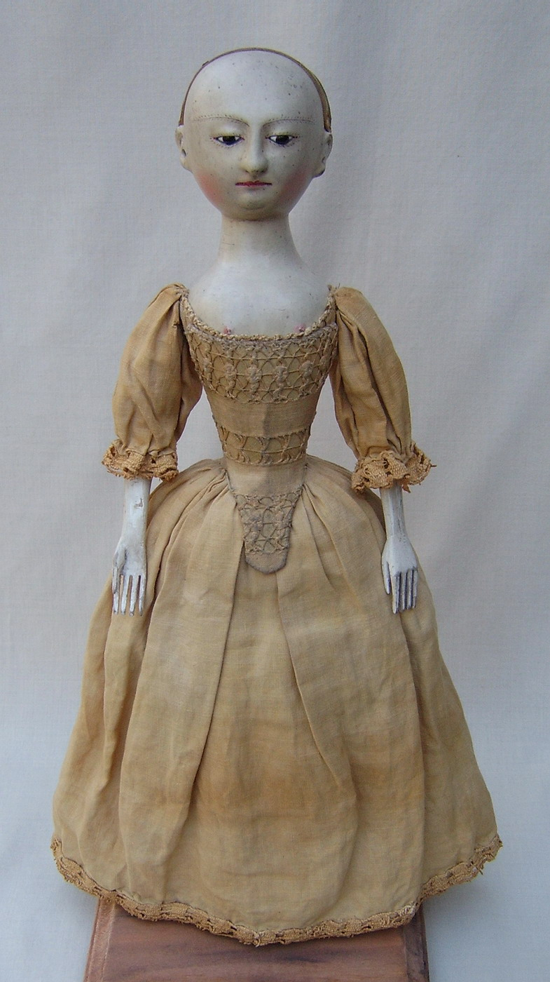 We Based This Very Unique Doll On A Antique Example Of Rare 18th Century Wooden