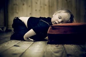 >Tras un duro día...