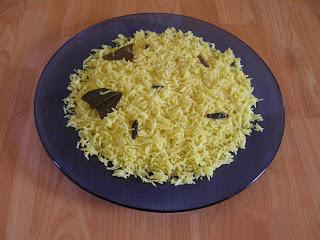 Kesar Pilaf / Saffron Pilaf | Kitchen Tantra