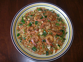 Spicy Shrimp Fried Rice – Chinese Style | Kitchen Tantra