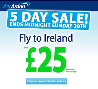 Viaje para a Irlanda, Inglaterra e Amsterdã com a Aer Arann