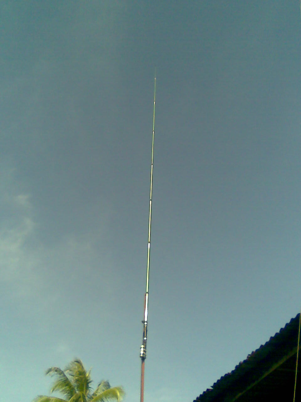 9M2MSO : All Bands Vertical Antenna-HF (homebrew)