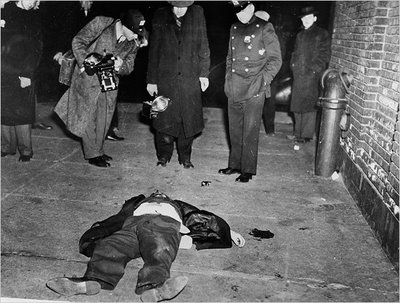 Not for the faint of heart- Vintage Crime Scene Photos